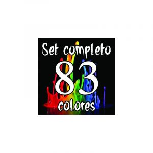 Set Completo 83 Colores Electric Ink